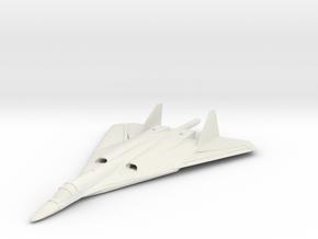 1/350 Russian PAK DA Bomber in White Natural Versatile Plastic