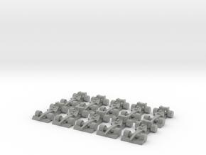 Formula 1 Miniatures - 2011 in Metallic Plastic