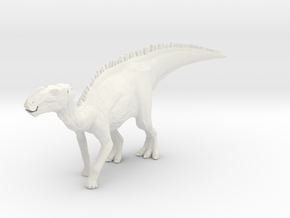 Gryposaurus Dinosaur Large HOLLOW in White Strong & Flexible