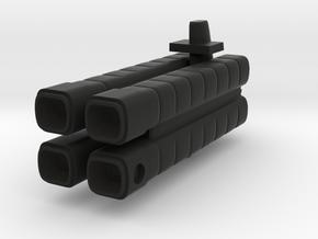 Mulcien Gonnus Class Freighter in Black Strong & Flexible