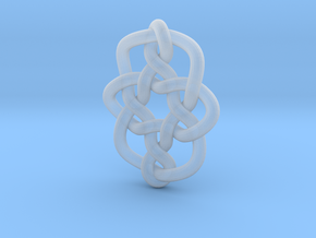 Celtic Knots 08 in Smooth Fine Detail Plastic