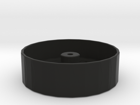 Light Weight Wheel in Black Strong & Flexible
