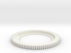 90T X 6 in White Natural Versatile Plastic