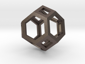 Truncated octahedron in Stainless Steel