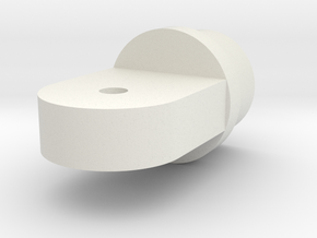 Spreader End in White Natural Versatile Plastic