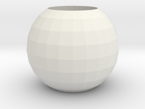 ring_001.dae in White Natural Versatile Plastic