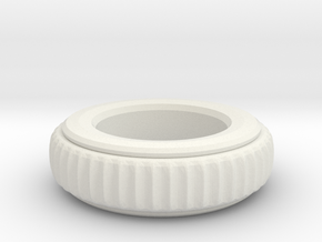 spike_moving_ring_001.dae in White Natural Versatile Plastic