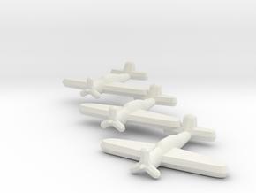 D4Y3 Judy (Triplet) 1:900 in White Natural Versatile Plastic