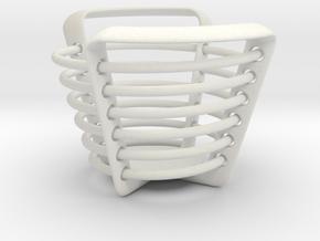 Spiral in White Natural Versatile Plastic