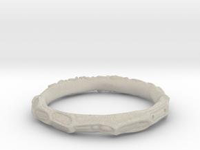 test ring in Natural Sandstone