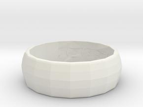 ring rebel in White Natural Versatile Plastic