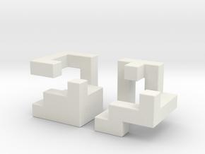 Insinuate in White Natural Versatile Plastic
