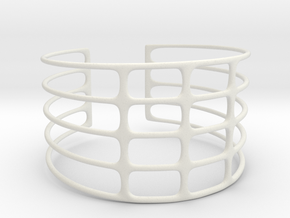 Bracciale07 in White Strong & Flexible