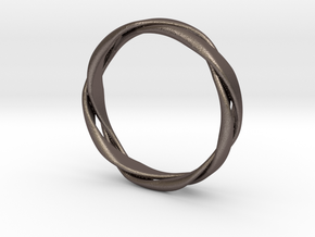 5-Twist Ring in Stainless Steel