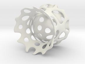 Eierbecher in White Natural Versatile Plastic