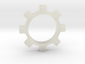 Tecnoc Gear in Transparent Acrylic