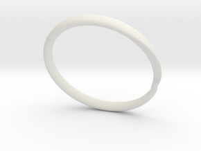 Ring OpenSeal in White Natural Versatile Plastic