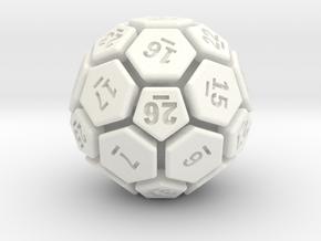 32-BIT SOCCER BALL DIE in White Processed Versatile Plastic