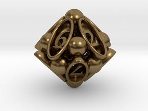 Spore d10 in Natural Bronze