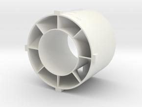 swirler v3_03 in White Natural Versatile Plastic
