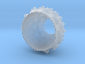 Thistle Tea Light Cover (thinner) in Smooth Fine Detail Plastic