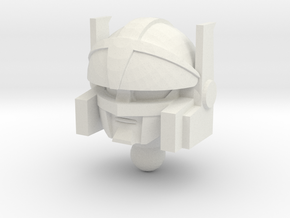 Blazer head in White Strong & Flexible