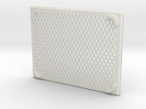 arduino enclosure bottom in White Natural Versatile Plastic