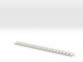 Verbindungsstueck_1 in White Natural Versatile Plastic
