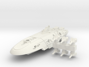 Rylos Class Corvette in White Natural Versatile Plastic