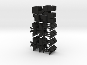 Mini crazy quartet in Black Strong & Flexible