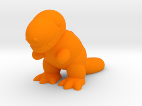 Tyrannosaurus (Nikoss'Dinosaurs) in Orange Strong & Flexible Polished