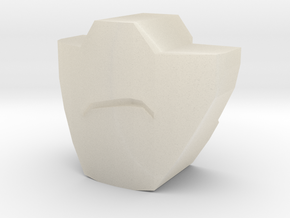 PRID Rumble / Frenzy Mouthplate - Frowning in White Acrylic