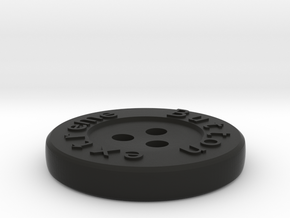 Generated button in Black Strong & Flexible