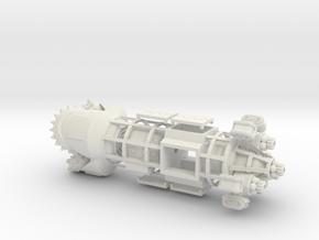 Molemen Type 3 in White Natural Versatile Plastic