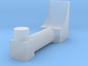 shorter arc antenna in Smooth Fine Detail Plastic