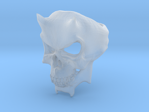 Skull Ring of DOOM in Smooth Fine Detail Plastic