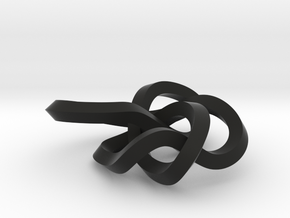 small 8-19 torus knot in Black Strong & Flexible