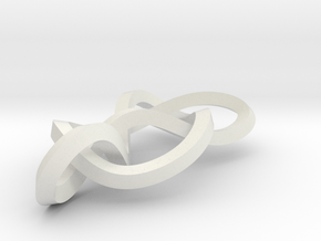 Modius 6-2 knot in White Natural Versatile Plastic
