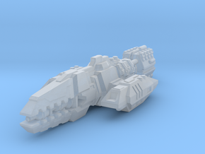 Colonial Warrior in Smooth Fine Detail Plastic