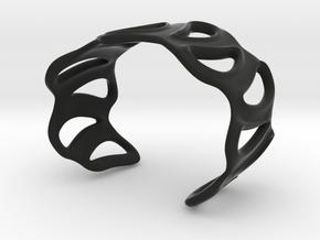 sinuous bracelet 43 in Black Strong & Flexible