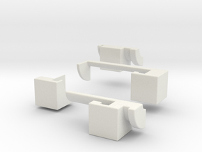 2x2x8 (print 8) in White Strong & Flexible