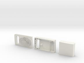 Usb Case Concept Redesign in White Natural Versatile Plastic