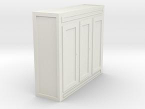 garderobe for scale 1:72 in White Natural Versatile Plastic