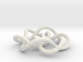 Prime Knot 9.35 in White Strong & Flexible