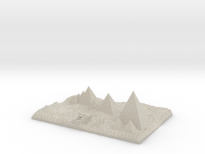 Pyrmids For ceramics etc  in Natural Sandstone