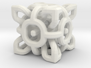 Complex Cube 3cm in White Strong & Flexible