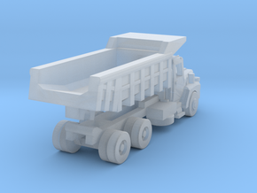 Mack Dump Truck - Open Cab - Z scale in Smooth Fine Detail Plastic