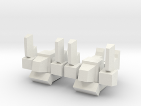 Pee - Wee in White Natural Versatile Plastic