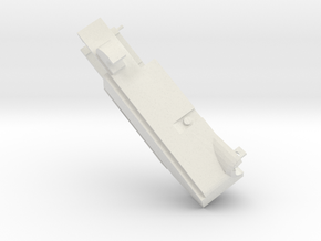 boxidSatelliteLeft in White Natural Versatile Plastic