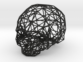 Skull Wireframe in Black Strong & Flexible